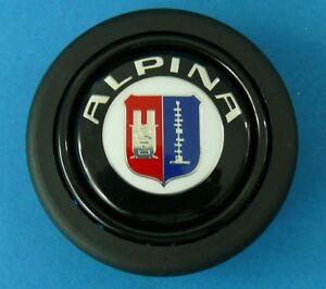 original Alpina Lenkrad Hupenknopf Hupknopf Horn Momo C1 C2 B3 B6 BMW Alpina NEU