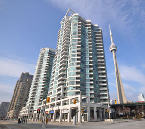 228 QUEENS QUAY WEST - 1 BEDROOM W/PARKING, HYDRO & LAKE VIEWS