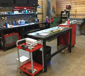 B2 Suspension Experts, your locally modern shock shop