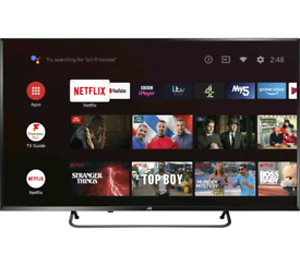 TV 40INCH SMART WIFI 4K ULTRA HD HDR ANDROID BRAND NEW
