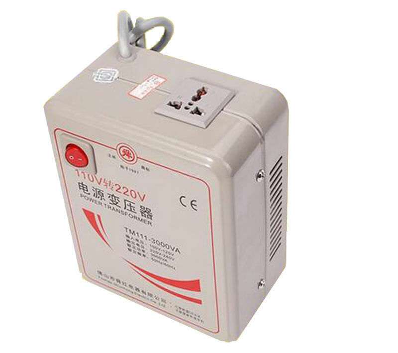 New Power Transformer Step Up Voltage Converter TM111-3000VA