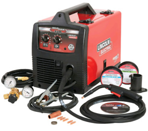 Brand New Lincoln Electric Mig-Pak 180 Welder & Accessory Kit