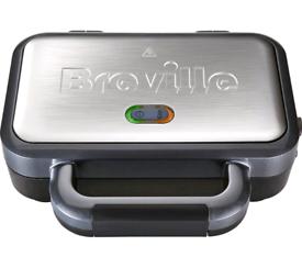 Breville deep fill sandwich maker new with box