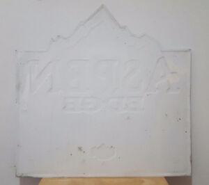 Enseigne,  pancarte,  publicité  bière Aspen Edge West Island Greater Montréal image 2