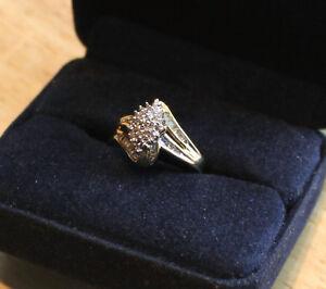 REDUCED  -  Cluster Diamond Ring Kawartha Lakes Peterborough Area image 1
