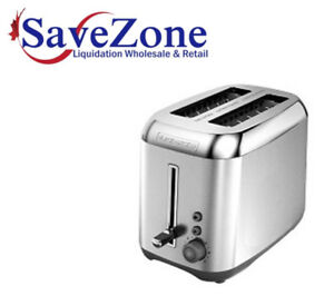 B&D Stainless Steel Toaster- Warehouse Clearance