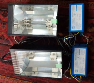 Aquarium lights 2 x 250W metal halide