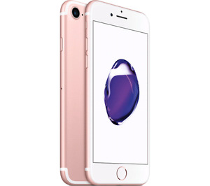 ROSE GOLD iPhone 7 128gb New Sealed-Warranty and Receipt