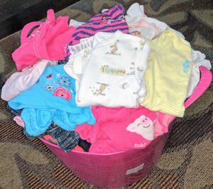 Baby girl clothing LOT (3 up to 12 months)