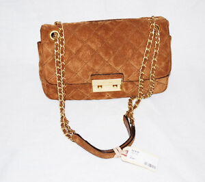 Michael Kors Dark Caramel Sloan Leather Handbag