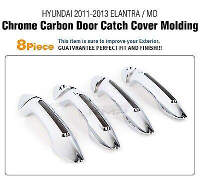 Luxury Chrome Door Handle Cover Garnish K181 For HYUNDAI 2011-2016 Elantra /MD