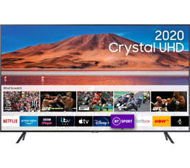 BRAND NEW 2020 SAMSUNG 4K UHD 43 INCH TO 75 INCH 1YR WARRANTY SMART TV