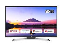 "40"" JVC SMART WIFI 4K ULTRA HD LED TV CAN DELIVER"