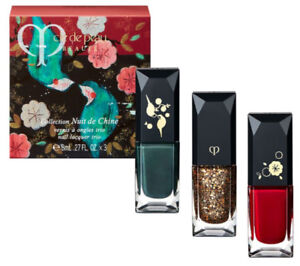 Cle de Peau Collection Nuit de Chine Nail Lacquer Trio