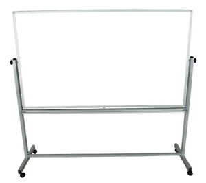 Offex Office Presentation Double-Sided Magnetic Whiteboard, 72 x