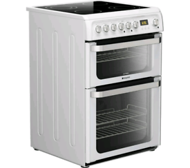 HOTPOINT - Ultima HUE61P Electric Ceramic Cooker
