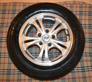 Mags RTX 15 inches with summer tires Firestone