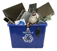 Bring in all of your E-waste for us to recycle!
