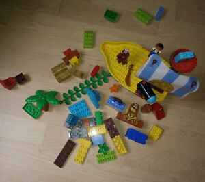 LEGO DUPLO Jake and the Never Land Pirates Jakes Pirate Ship set