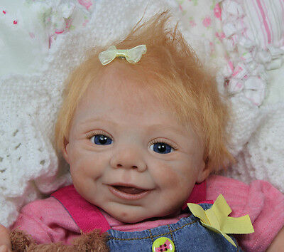 """Ginny is back !!! Reborn Doll Kit """"Ginny"""", sculpted by E"""