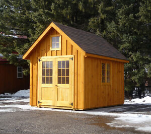 8x12' Chalet Garden Shed