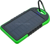SOLAR POWERED PHONE CHARGERS - Ideal for Travel & Emergencies !