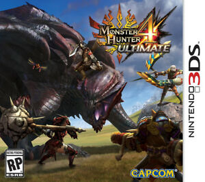 Monster Hunter 4 Ultimate sur 3DS