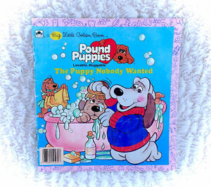 Vintage 1986 Pound Puppies The Puppy Nobody Wanted Book