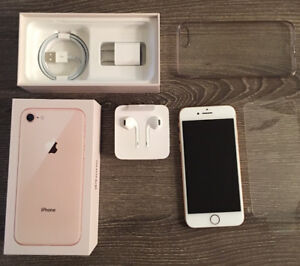 iPhone 8-64 G-Gold - Absolutely new condition (3 mth old)