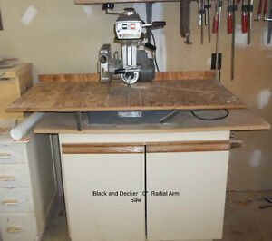 "10"" Radial Arm Saw"