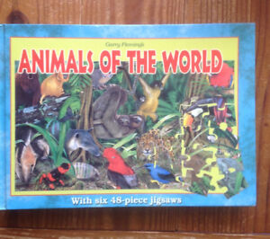 Animals Of The World Puzzle Book