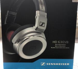 Casque d'écoute(écouteur et micro)sennheiser HD630VB