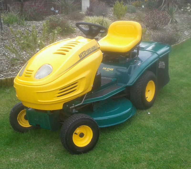 Mtd Yardman Tractors : Mtd yardman ha auto drive ride on mower quot cut