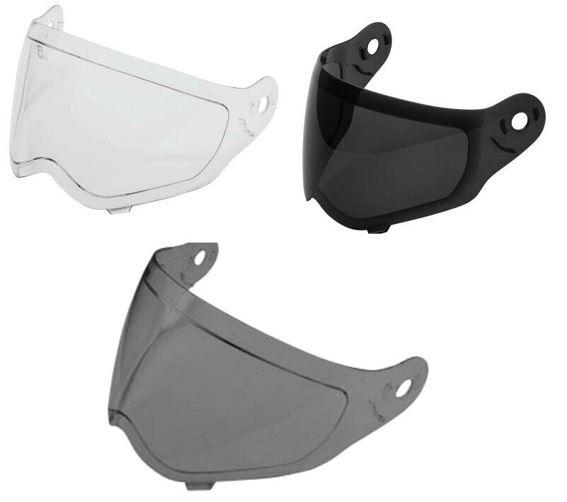 NOS MOTORCYCLE HELMET REPLACEMENT FACESHIELD SHIELD CLEAR FC-36 VISOR