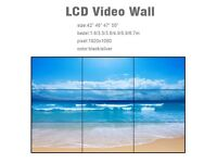 video wall tv system. x 9 screens PRICE REDUCTION !!