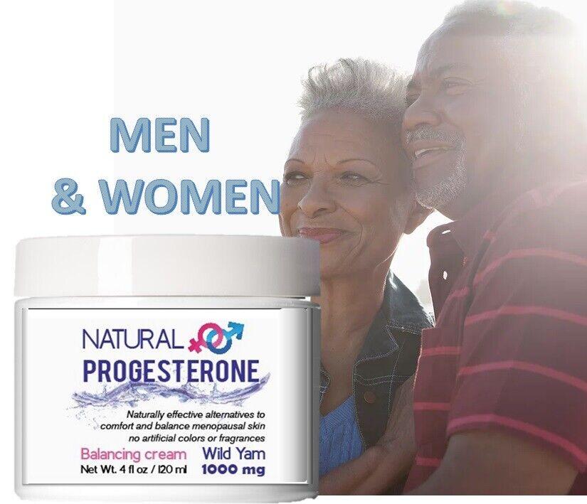 Superior Natural Progesterone Body Cream Men's & WOMEN Formula USP BALANCING