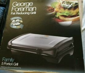Unused George Foreman grill