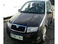 BREAKING SKODA FABIA 1.4 5DR 2000 X BLACK MOST PARTS AVAILABLE 97k MILES