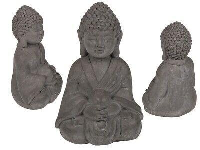 Sentado Buda Interior Jardín Exterior Estatua Cemento Adorno