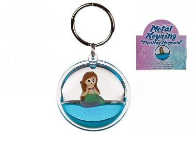 schwimmende Meerjungfrau Mermaid Nixe Mädchenanhänger NEU (Mädchen Schlüsselanhänger)