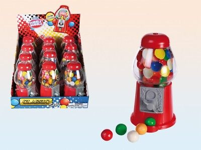 Mini Gumball Machine Gummy Sweets Sweet Shop Dispenser Children's Christmas Gift