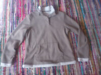 Set of 2 M&S fleeces (sizes 10 & 12, worn by size 8)