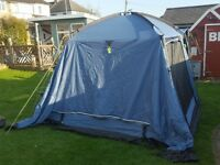 Khyam Driveaway awning with 2 berth inner tent - very good condition