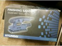 Boxed Hyundai Finishing Electric Sander Good Condition Can Deliver