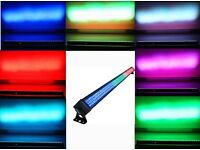 New 28W 252xRGB LEDs Wall Washer 100cm Batten Bar Uplighter DMX Stage Disco DJ Party Event