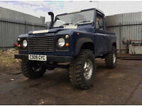 1986 Land Rover 90 2.5 D Pick-Up 2dr