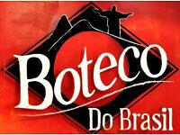 Boteco do Brasil is looking for experienced bar staff & PR.Immediately start