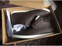 Brand new - Brown Men's boots shoes Size 10 in box - Brand: Nanny State