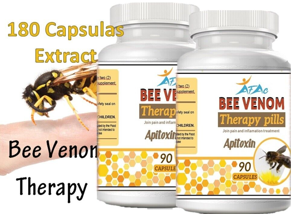 Bio med Bee Therapy Venom Extract anti-inflammatory Miracle Arthritis Pain Cure