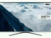 "Samsung 43"" KU6000 6 Series Flat UHD 4K Smart TV"